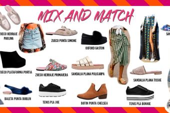 Mix and Match: Falda + Zapatos!!!